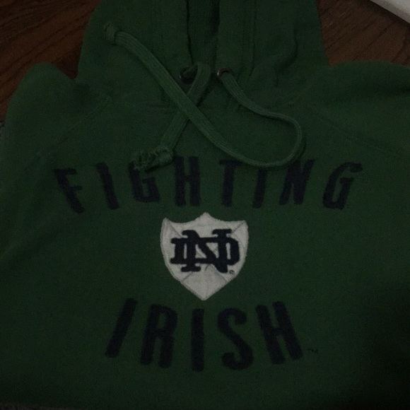 new arrivals c7d8b bddf7 Green Notre Dame Fighting Irish Hoodie ☘️